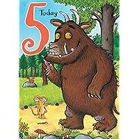 """The Gruffalo GR010""""Age 5"""" Birthday Card"""