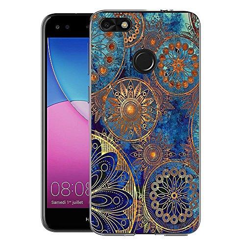 FoneExpert® Huawei P9 Lite Mini / Y6 Pro 2017 Tasche, Ultra dünn TPU Gel Hülle Silikon Case Cover Hüllen Schutzhülle Für Huawei P9 Lite Mini / Y6 Pro 2017