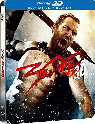 300: Rise of an Empire [3D + Blu-ray] [Steelbook] English, Bulgarian, Hebrew, Greek, Estonian, Indonesian, Chinese, Chinese (Ca