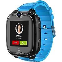 XPLORA XGO 2 - Telefon Uhr für Kinder (SIM-frei) - 4G, Anrufe, Nachrichten, Schulmodus, SOS-Funktion, GPS, Kamera, LED…