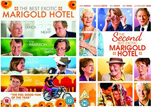 omplete DVD Collection : The Best Exotic Marigold Hotel / The Second Best Exotic Marigold Hotel + Special features by Maggie Smith ()
