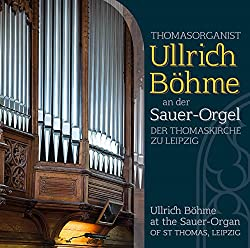 Ullrich Böhme an der Sauer-Orgel