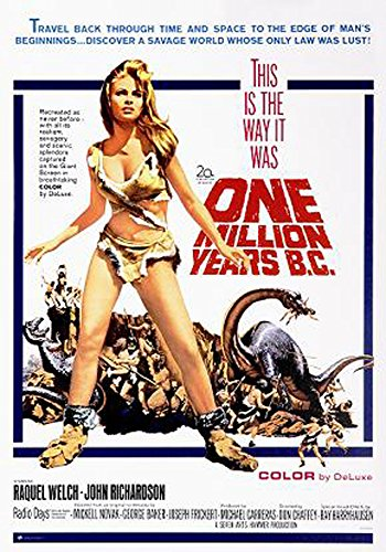 One Million Years BC - Poster - One Sheet + Ü-Poster