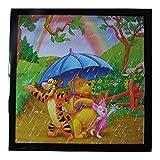 Tableau Disney Tigrou, Winnie l'Ourson et Porcinet cadre 23 x 23 cm