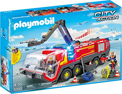 Playmobil Aeropuerto- Airport Fire Engine with Lights...