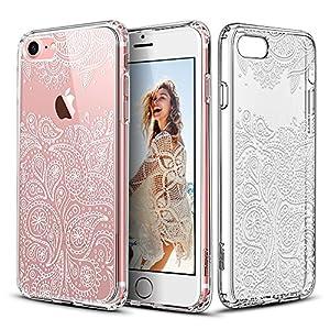Capa para iPhone 7 com mandala Paisley Grenache