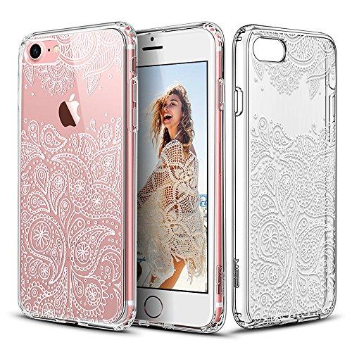 iPhone 7 Hülle (4,7 Zoll), ESR® Hybrid Hülle Muster, iPhone 7 Bumper Case [Weiche TPU Rahmen + Hart PC Rückdeckel] Schutzhülle für iPhone 7 (Paisley)