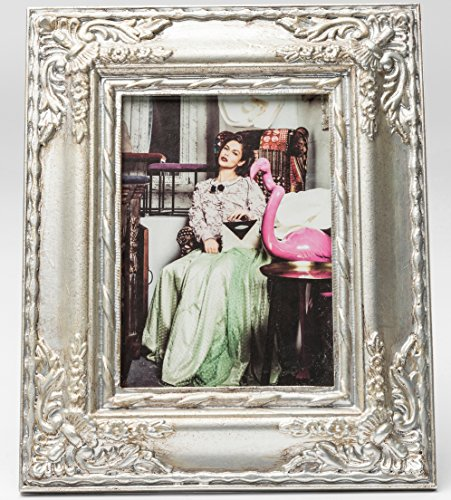 Kare Bilderrahmen Royal Family Silver 13 x 18 cm Barock