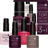 CND Shellac Farben Set - TOPSELLER PACK 2 - 4 Farben zum Preis von 3