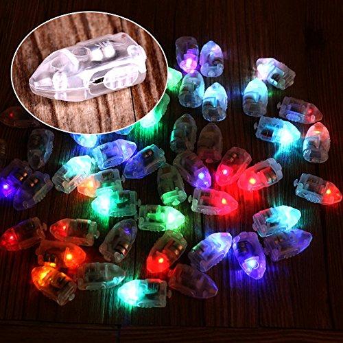 Janecrafts Mini LED 10pcs Ballons Lichter Batteriebetrieben Wasserdicht Beleuchtung für Papierlaterne Papier Lampions dekorative Leuchten Leuchten Für Mittelstücke