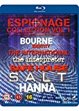 Espionage Collection Vol. 1 6-Disc Set ( The Bourne Identity / The International / The Interpreter / Safe House / Salt / Hanna ) (Blu-Ray)