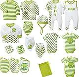 Baby Butt Erstausstattung 20-TLG. grün