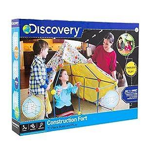 Discovery Construye Tu Cabaña, Color Azul, Naranja y Amarillo (6000105)
