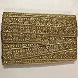 #5: DaSync Lace and Border Material with Excellent Quality for Sarees, Dress, caps, Decoration and carfts manymore (Pack of 8.5m Approx)
