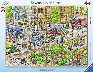 Ravensburger Infantil Puzzle 06172Ravensburger 06172de Viajes en la Ciudad de niño Puzzle
