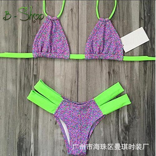 Sexy bikini donna Spalato costume costumi da bagno abiti Suit(S-M-L-XL) di balneazione reggiseno imbottito