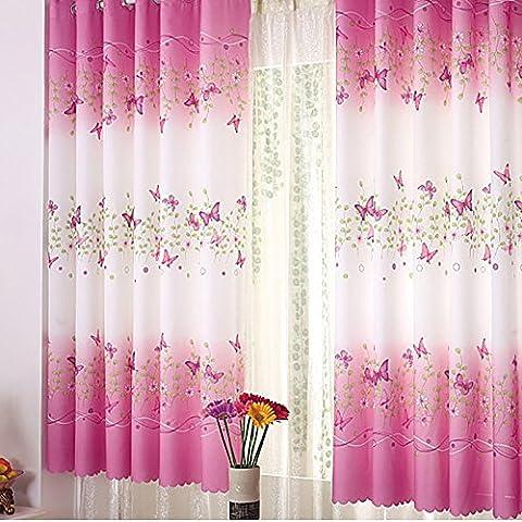 Brightup Blumen Vorhang Verkleidungs Raum Teiler Ausgangsdekor Halbschatten Vorhänge