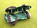 Lawn Spike Aerator Shoes/Sandals.British designed and manufactured for maximum aeration.