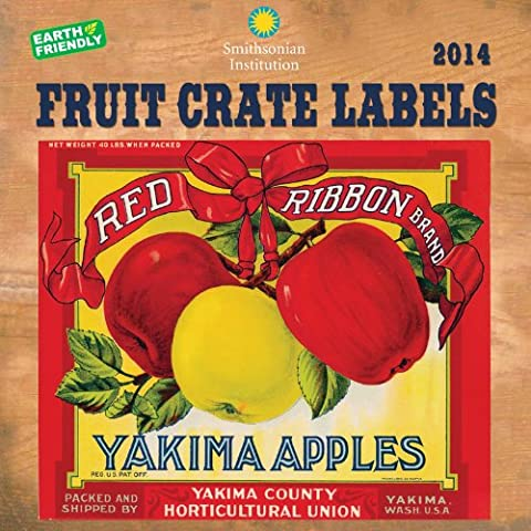 Fruit Crate Labels 2014 Calendar