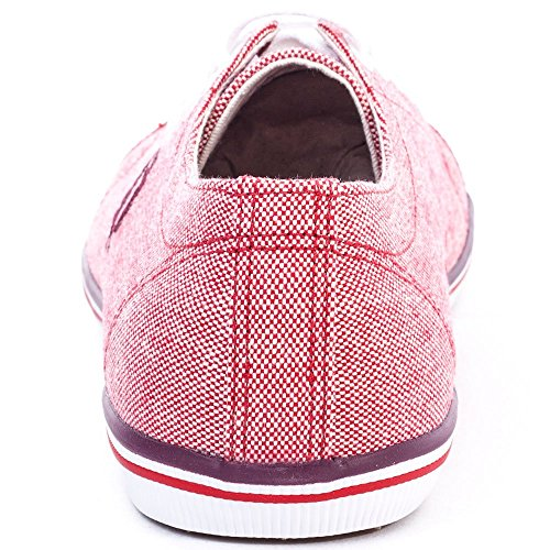 Fred Perry Kingston 2 Tone Femmes Trainers Blood