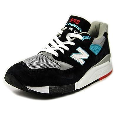 detailed look 58a7e b3c76 New Balance M998, CBB black/grey: Amazon.co.uk: Shoes & Bags