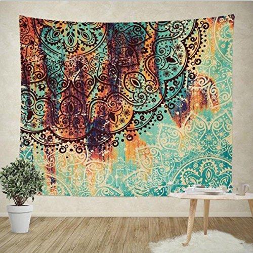 Oro Being Pared Indio Alfombra Pared Colgantes Mandala Toalla Pared Tapiz Tapestry Goa India/Hippie Boho Estilo como decoración Toalla/Colcha Indio cojín Psychedelic