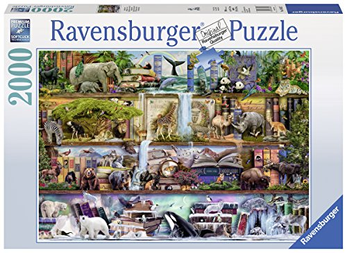 Ravensburger-16652-Aimee-Steward-Groartige-Tierwelt-2000-Teile-Puzzle Ravensburger Puzzle 16652 – Aimee Stewart: Großartige Tierwelt – 2000 Teile -