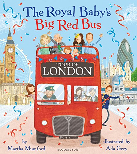 Royal Baby's Big Red Bus Tour of London (Royal Baby 4)