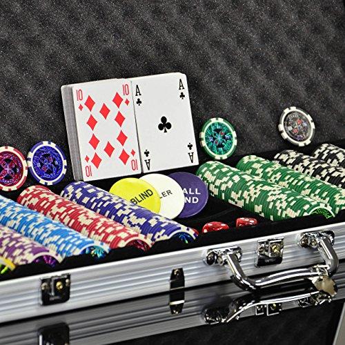 Nexos Pokerkoffer Pokerset 500 300 Lase...