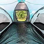 Skandika-Hammerfest-Tenda-per-Famiglie-4-Persone-Tenda-a-Cupola-con-2-cabine-di-Riposo-Altezza-in-Piedi-200-cm