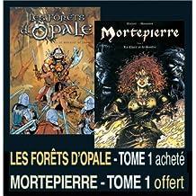 2 BD pour le prix d'1 : Les forêts d'Opale, tome 1 + Mortepierre, tome 1