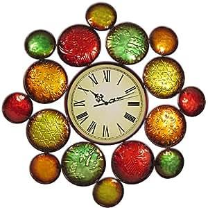 Metal Art Wall Clock - 2070021