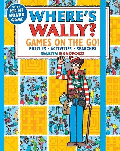 Where's Wally? Games On The Go. Puzzles, Activities And Searches por Handford Martin