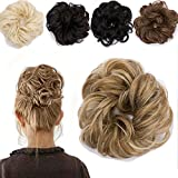 Moño Postiche extensión de cabello–Hair Bun Hair Extensions