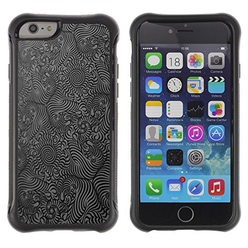 Graphic4You CGI Eyes Manipulation Design Shockproof Anti-Rutsch Weichen Hülle Case Tasche Schutzhülle für Apple iPhone 6 / 6S Design #18