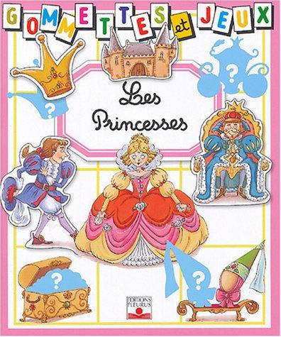Gommettes et jeux : Les Princesses