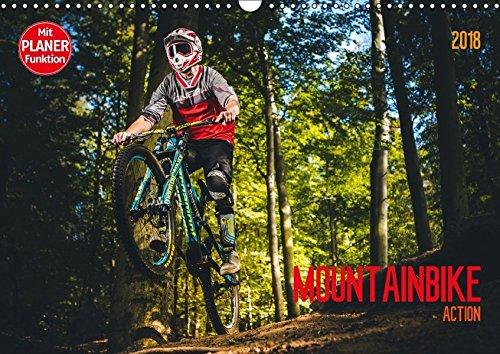 Mountainbike-kunst (Mountainbike Action (Wandkalender 2018 DIN A3 quer): Action quer durch den Wald (Geburtstagskalender, 14 Seiten ) (CALVENDO Sport) [Kalender] [Apr 01, 2017] Meutzner, Dirk)