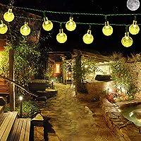 Luces Solar Impermeable, Luz Solar 6m 30LED para Árbol de Navidad, Patio, Jardín, Terraza y Todas las Decoraciones