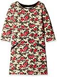 Chemistry Girls' Dress (GA16-567KMDRSSLD_Pink Floral_7 - 8 years)