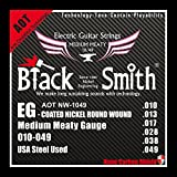 Black Smith 10-49 Coated Jeu de Cordes pour Guitare électrique