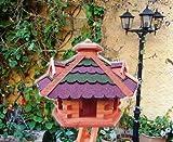 Gartendeko aus Holz, BG40r-gGOS ohne Ständer Bitumenschindeln
