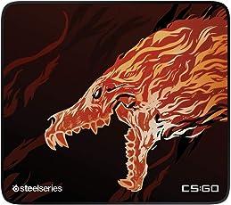 SteelSeries QcK+ Limited - Gaming-Mauspad - 450mm x 400mm x 3mm - Langlebige Nähte - Stoff - CS:GO Howl