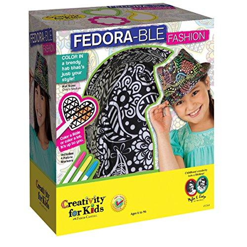 Art Ein Einer Von Modeschmuck (Creativity for kids CFK1264 - Fedora-Mode,)