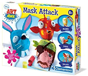 Clementoni - 62419.5 - Loisir Créatif - Art Attack - Mask Attack