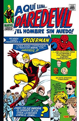 íEl Hombre Sin Miedo consigue su primer Omnigold! Descubre las aventuras de Daredevil desde el principio, en un cuidado volumen que recoge los dos primeros años de su existencia, con la presentación de algunos de sus peores villanos.
