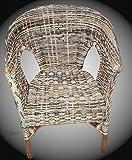 Stuhl Sessel NEU in der Farbe Zebra multicolor Rattansessel