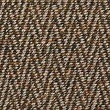 Fabulous Fabrics Strickstoff Cardigan Ethno Chevron – braun/Schlamm — Meterware ab 0,5m — zum Nähen von Jacken, Mänteln und Pullovern