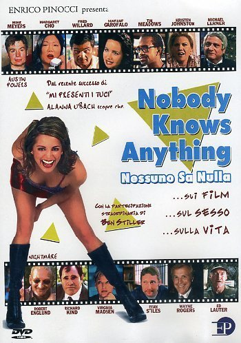 nobody knows anything dvd Italian Import by alan blumenfeld