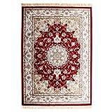 BAGEHUA maßgeschneiderte Türkisch Chinesisch Stil Seide Seide Decke Blended Wohnzimmer Couchtisch Teppich, 160 Cmx 230 Cm, 824 R