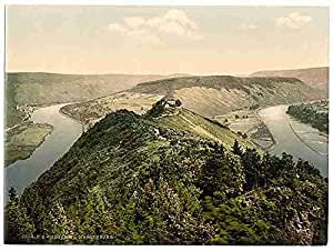 Photo The Marienburg Moselle valley of A4 10x8 Poster Print